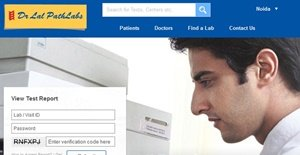 Dr Lal Path Lab ecommerce