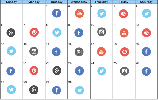 Social Media Content Strategy With Editorial Calendar