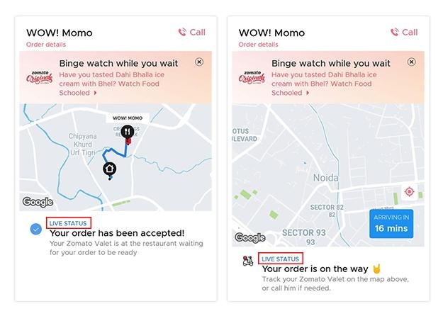 Live Tracking through Google Maps
