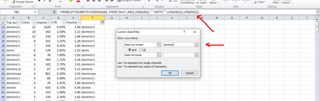 extract data excel sheet